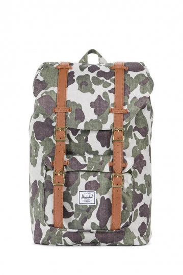 Herschel Supply Co. Little America mid volume backpack frog camo/tan