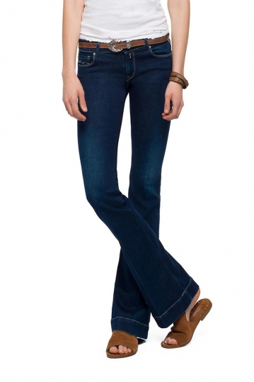 Replay Teena bootcut jeans dark blue