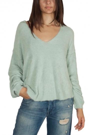 Free People Princess sweater mint