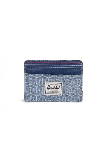 Herschel Supply Co. Charlie RFID wallet herringbone sashiko