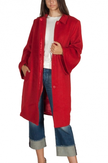 Soft Rebels Vera coat red