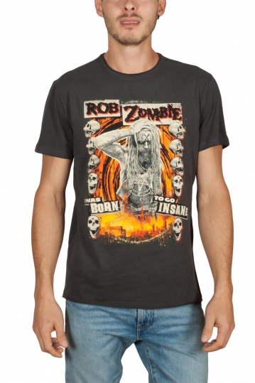 Amplified Rob Zombie Born insane t-shirt