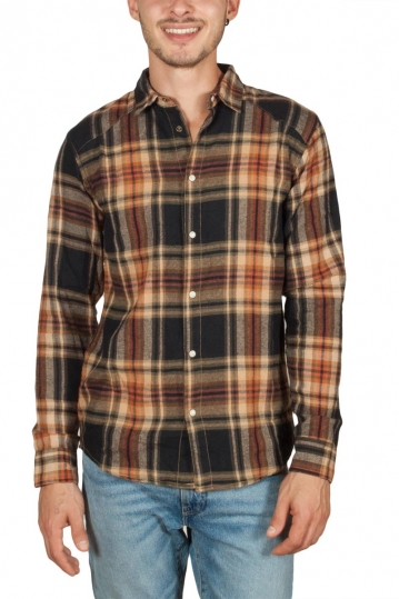 Anerkjendt Hallow flannel check shirt bronze