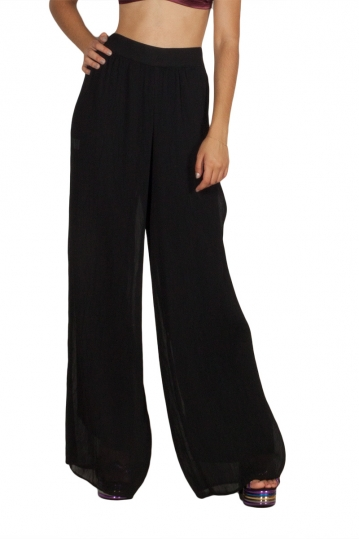 Lotus Eaters Galatea palazzo trousers black