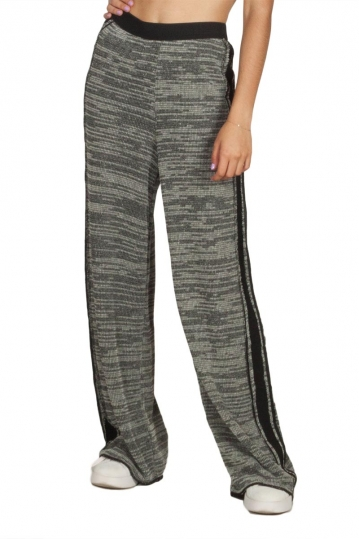 Lotus Eaters Phoenix wide leg side stripe pants