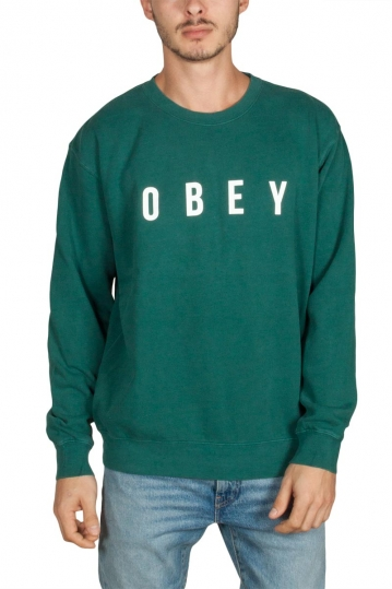 Obey Anyway crew neck sweatshirt