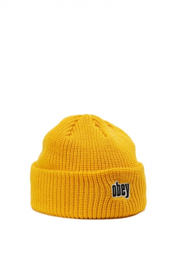 Obey Jungle men's beanie yellow