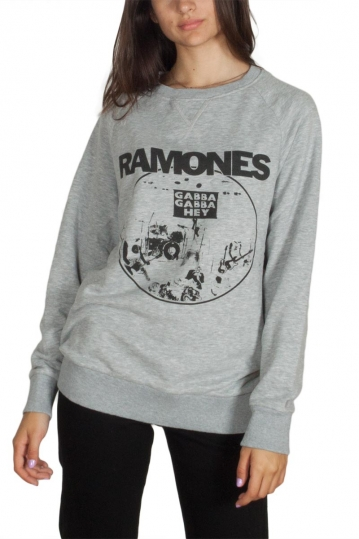 Worn By Ramones Gabba Gabba Hey sweatshirt grey melange