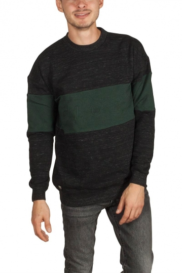 Globe Boston men's sweatshirt black marl