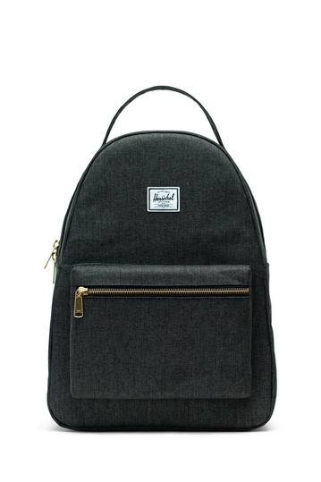 Herschel Supply Co. Nova mid volume backpack black crosshatch