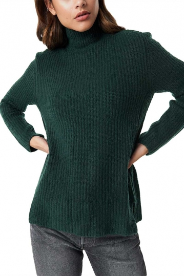 Rut & Circle Marielle turtleneck jumper forest green