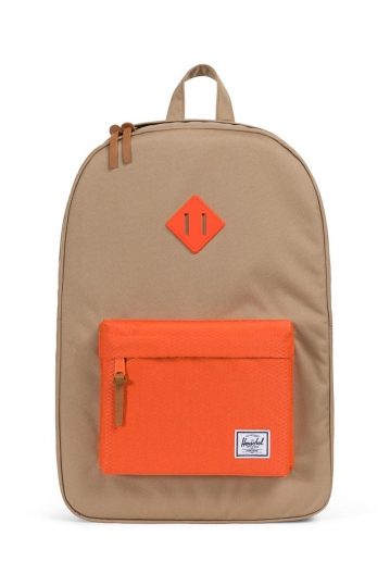 Herschel Supply Co. Heritage backpack kelp/vermillion orange