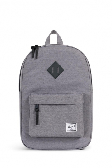 Herschel Supply Co. Heritage mid volume backpack mid grey crosshatch