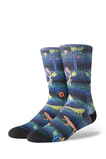 Stance Desert Dinos men's socks black