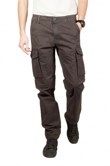 Gnious Rene cargo pants dark grey