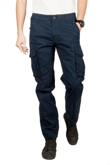 Gnious Rene cargo pants navy