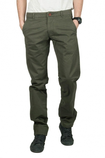 Gnious Jagowson chino pants dark green