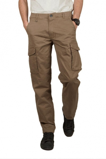 Gnious Rene cargo pants wood