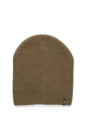 Replay men's knit beanie khaki